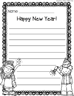 new years writing paper Free printable stationery including beautiful writing paper, to-do lists, reminder notes, phone message pads as well as shopping and grocery lists.