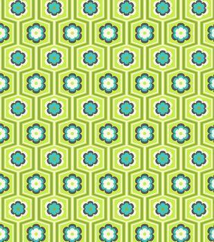 Modkid Studio by Patty Young Flower Trellis Fabric