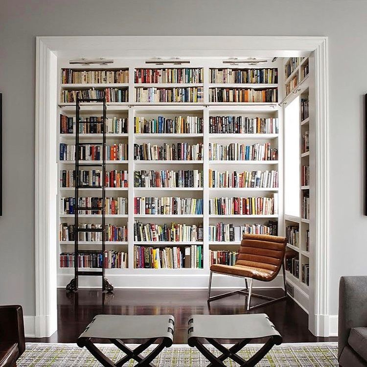 Library Nook | Reading/library nooks | Pinterest
