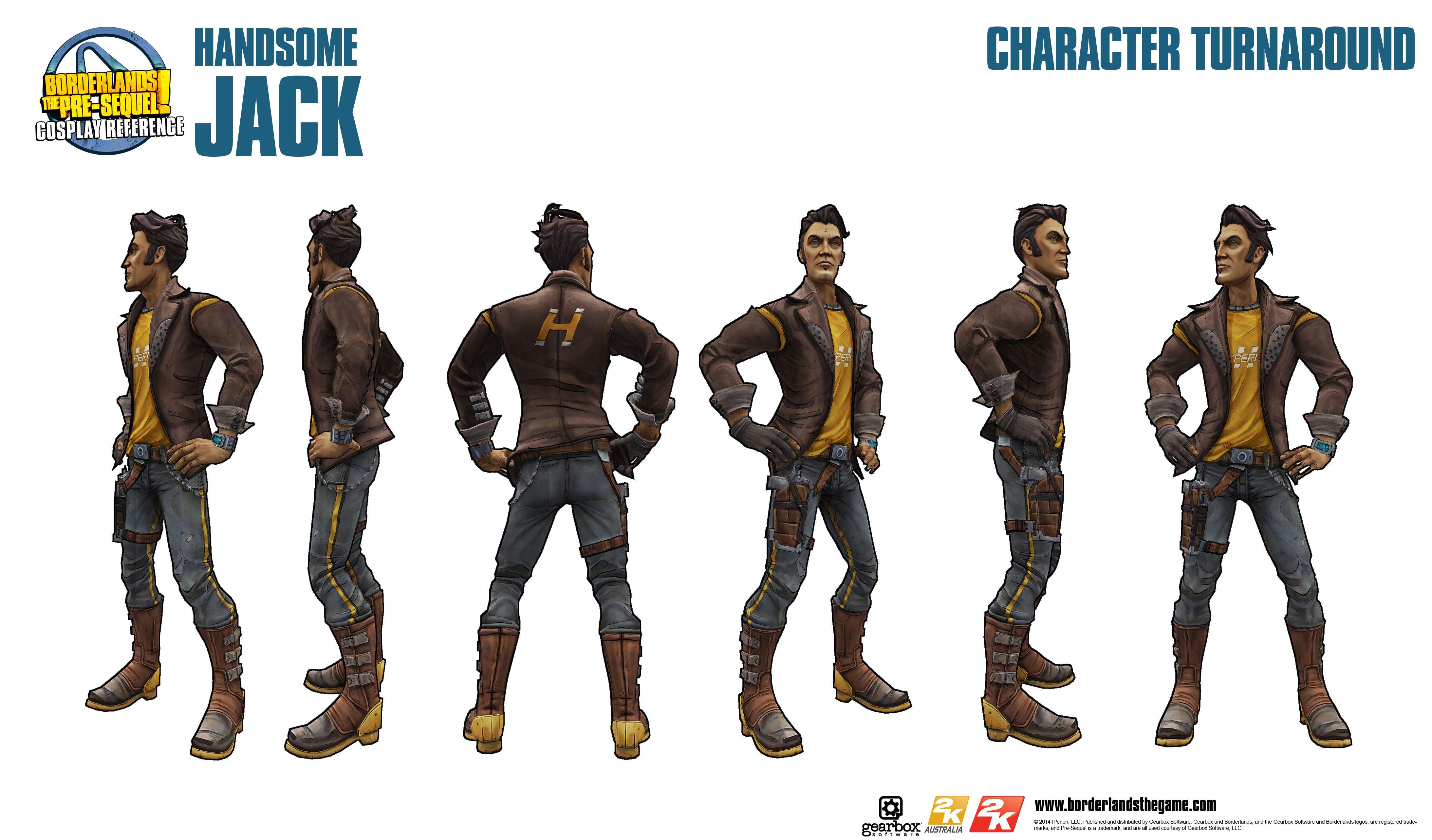 Handsome Jack Pre Sequel Reference Handsome Jack