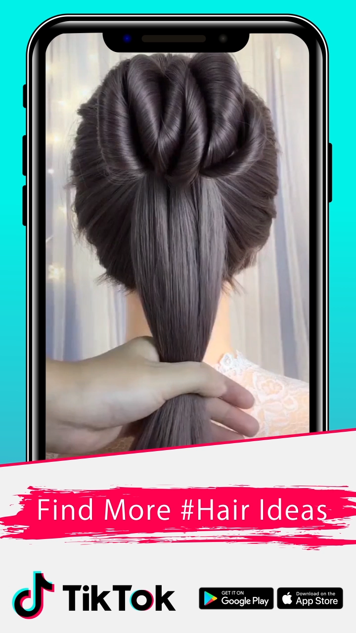 Download Tiktok For More Cool Videos Watch Cool Videos Created By Creators Worldwide Download Today Tiktok Down In 2020 Hair Sytles Hair Videos Long Hair Styles