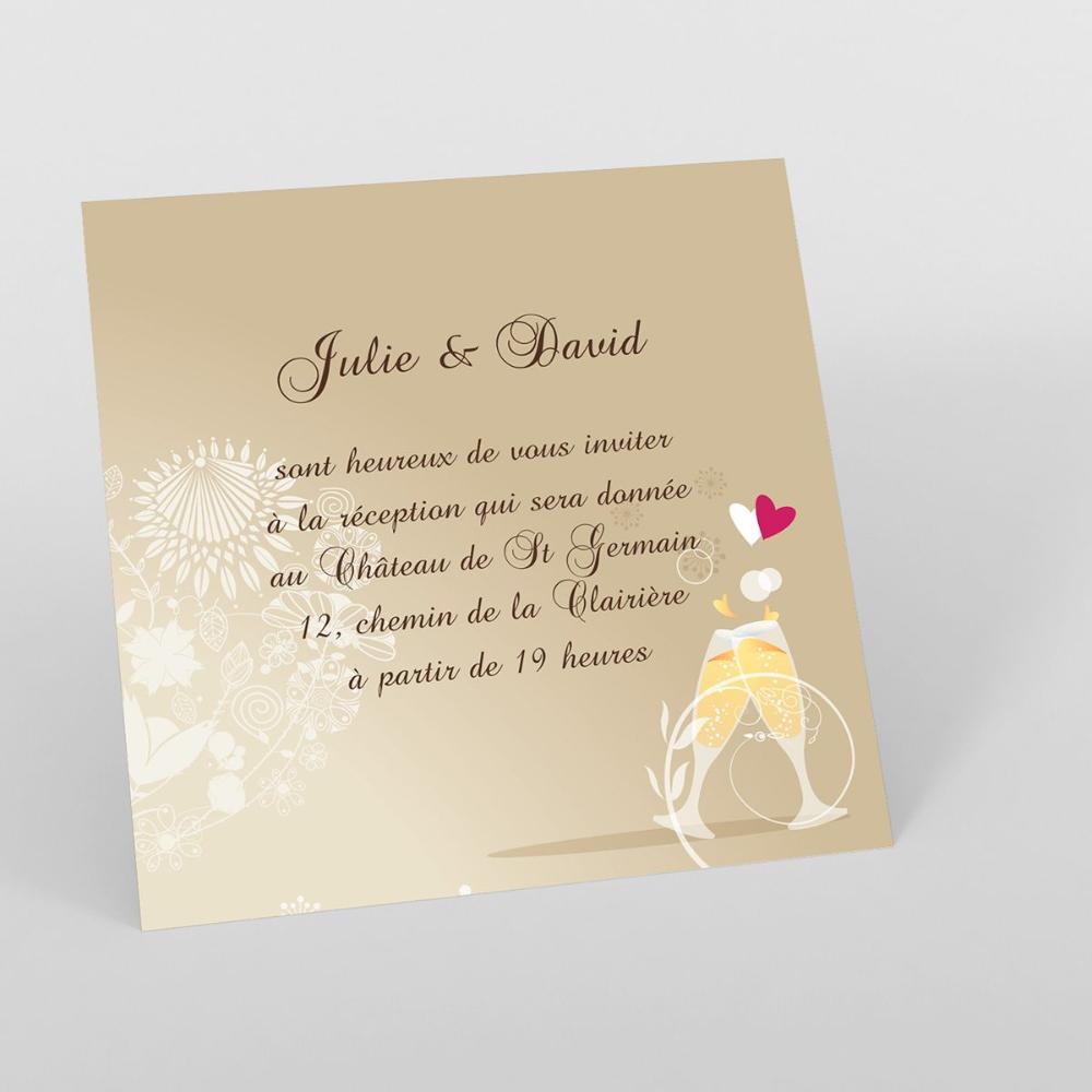 carte d invitation mariage