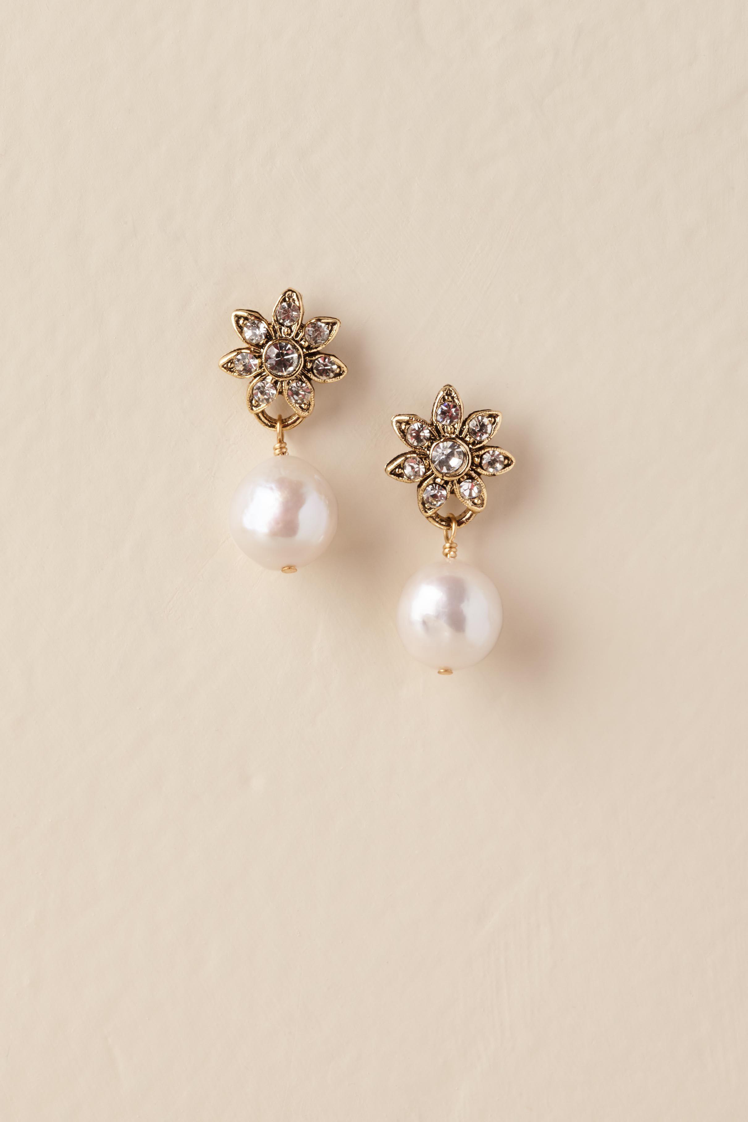 e658a0aa4 Whitley Drop Earrings | Wedding ideas | Pinterest | Earrings, Gold ...
