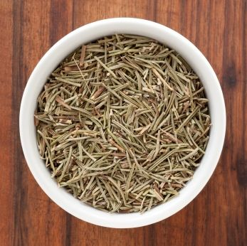 Dried rosemary is great on pizza, in focaccia, in marinades