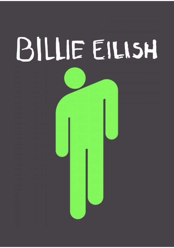 Billie Eilish Billie Billie Eilish Green Aesthetic