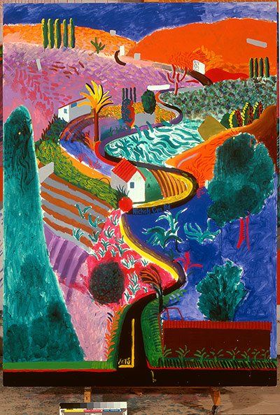 natural phenomena david hockney at the royal academy in pictures rh pinterest com