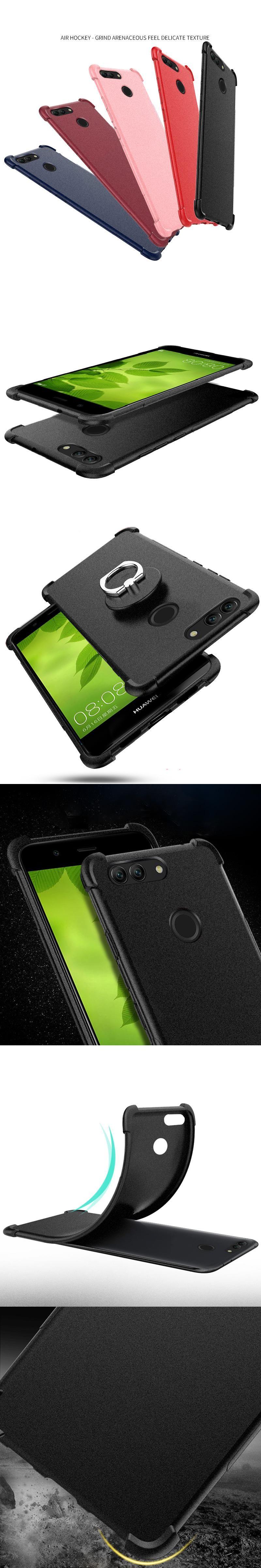 For Huawei Nova 2 Plus Case Slim Matte Silicone Anti Knock Scrub Tpu Love Mei Powerful Bumper Xiaomi Mi Note Original 100 Back Cover