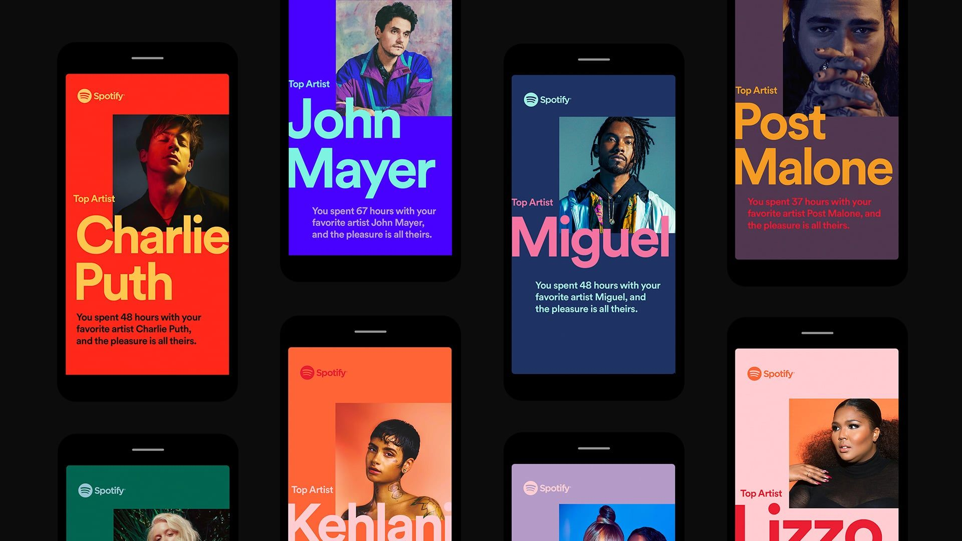 Spotify 2018 Wrapped Design Spotify design, Spotify