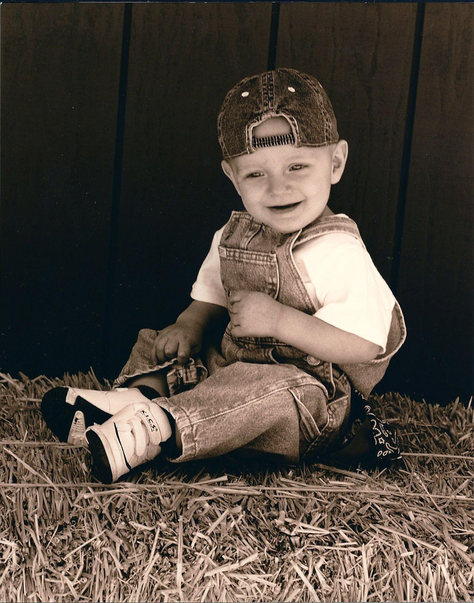 GARRETT 9months Love my Little Farmer, one of my Favorite Pictures ...