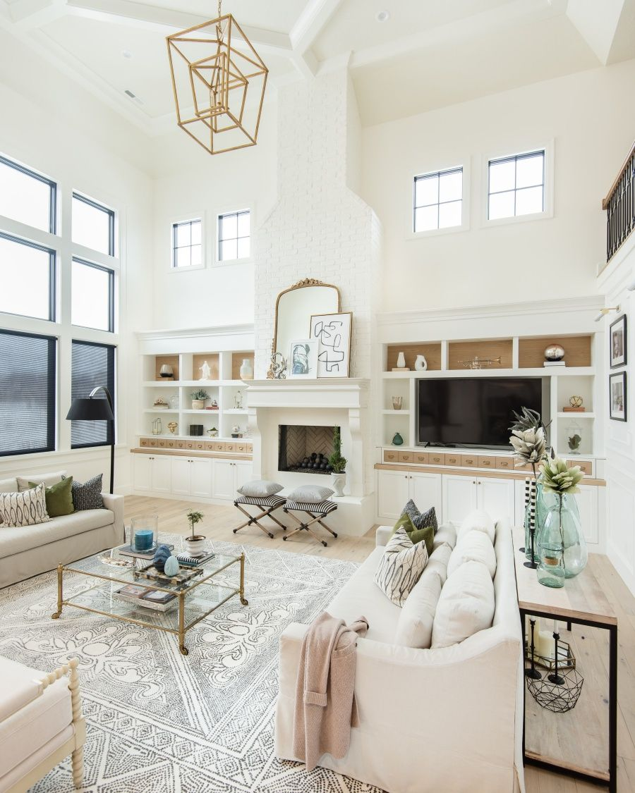 spring home tour with fresh greens feather my nest pinterest rh pinterest com