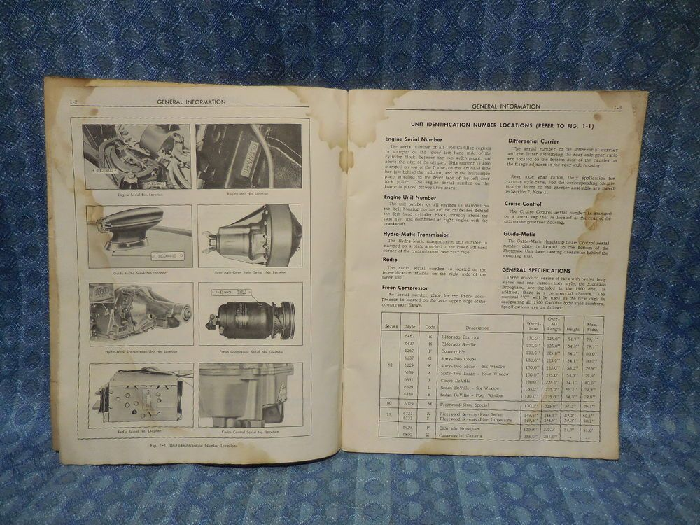 1960 cadillac original shop manual supplement see detailed ad shopping fandeluxe Choice Image
