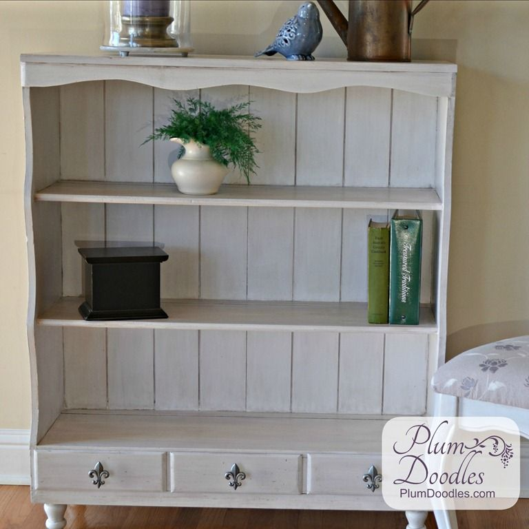 How to Give a Bookcase French Country Style
