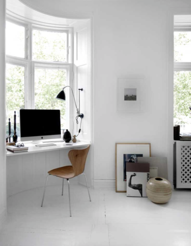 Awesome 32 Inspirational Minimal Home Office Workspaces