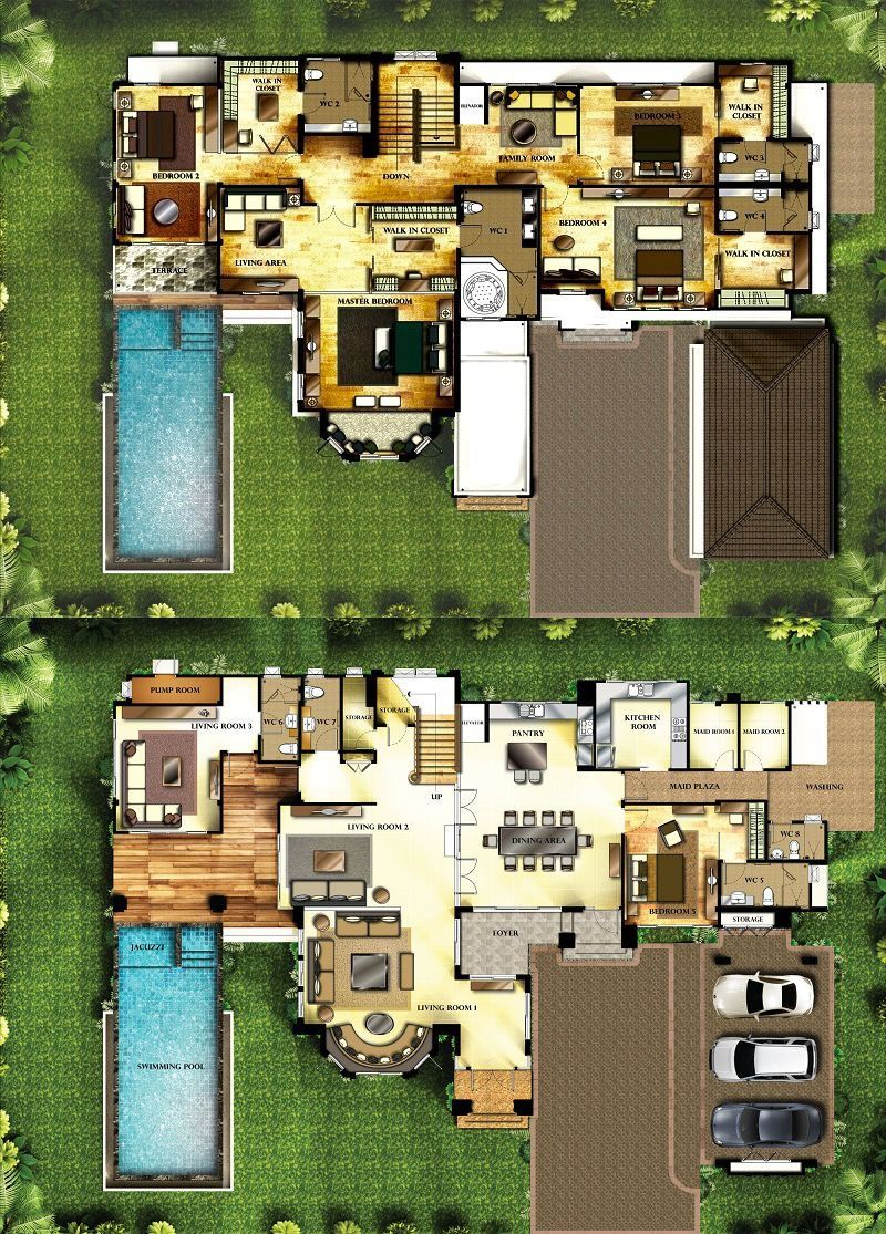GALEXANDER Villa Plan Dream House