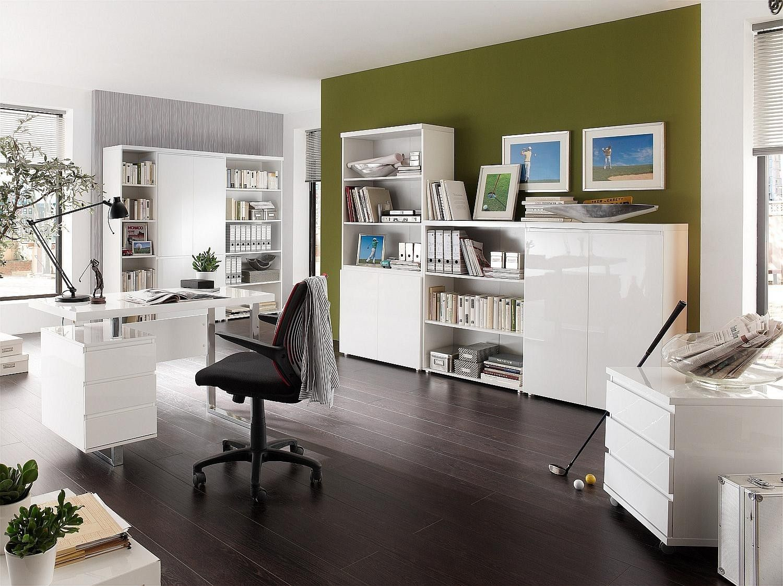Bureau moderne bureau et bibliothèque pinterest