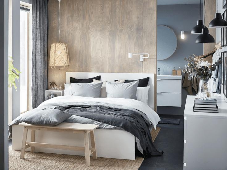 Ikea S Interior Design Leader Says These Will Be Fall S Biggest Trends Stylish Bedroom Bedroom Decor Cozy Diy Home Decor Bedroom