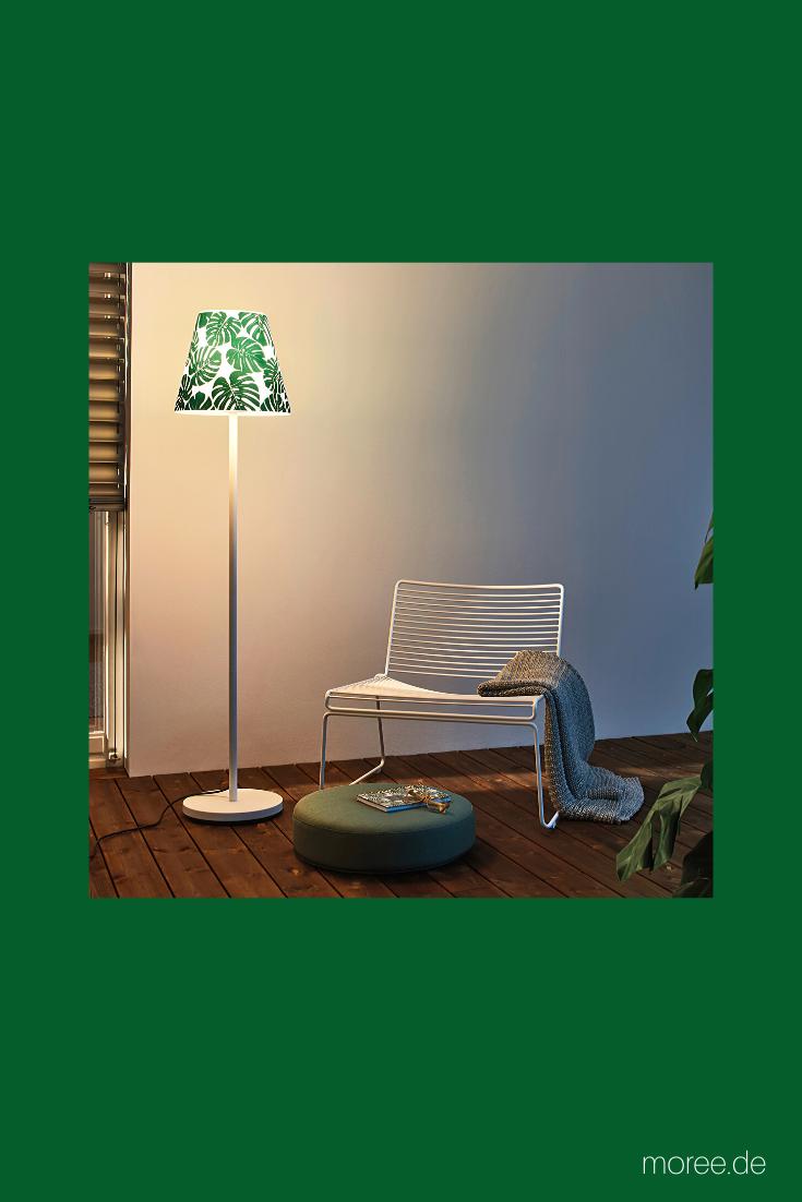 Aussenstandleuchte Swap Mit Jungle Design Cover Garten Stehlampe Lampen Garten Lampe