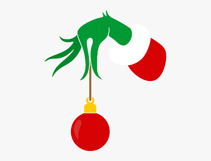 Grinch Hand Grinch Hand With Ornament Hd Png Download Is Free Transparent Png Image To Explore More Similar Hd Image On P Grinch Hands Ornaments Png Images