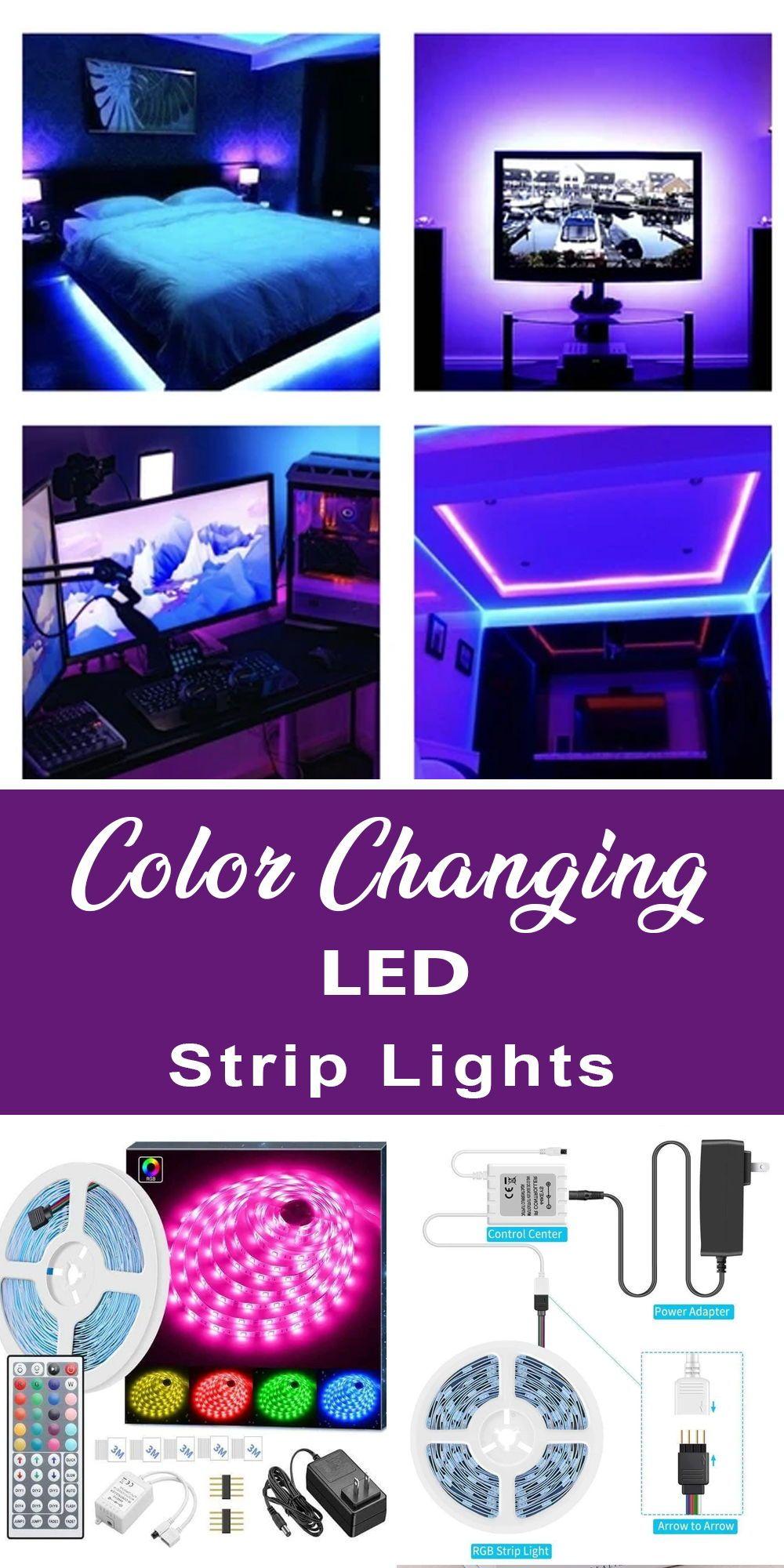 Color Changing Led Strip Lights Led Strip Lighting Strip Lighting Color Changing Led