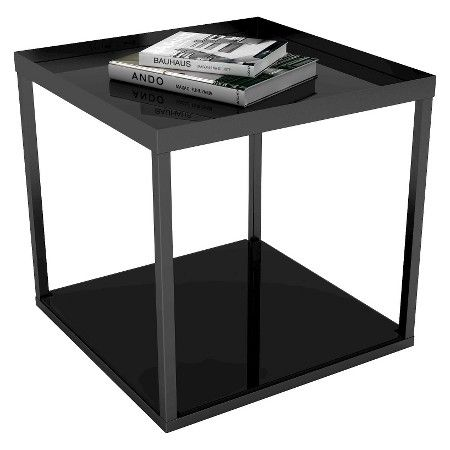 modular side table black dar target furniture pinterest rh pinterest com