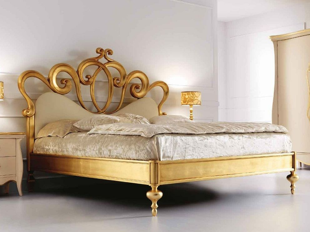 Classy Gold Headboard Bedroom Furniture Sets Bedroom Set Bed