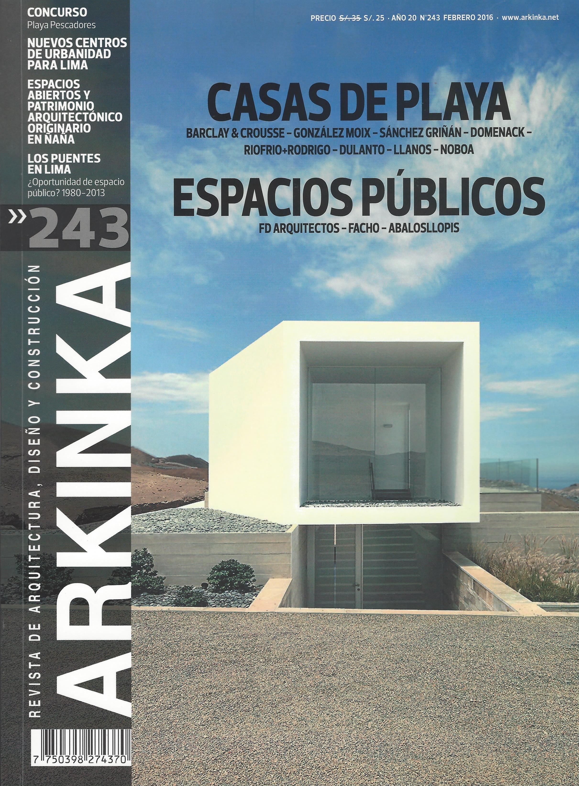 Arkinka revista de arquitectura dise o y construcci n for Diseno de interiores lima