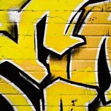 Fototapet Yellow Graffiti Fml Pinterest Graffiti Street