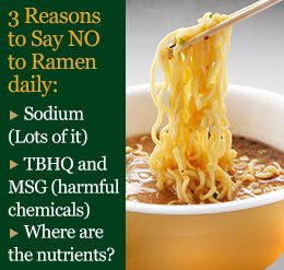 You Need To Know Why Eating Ramen Noodles Every Day Is Unhealthy