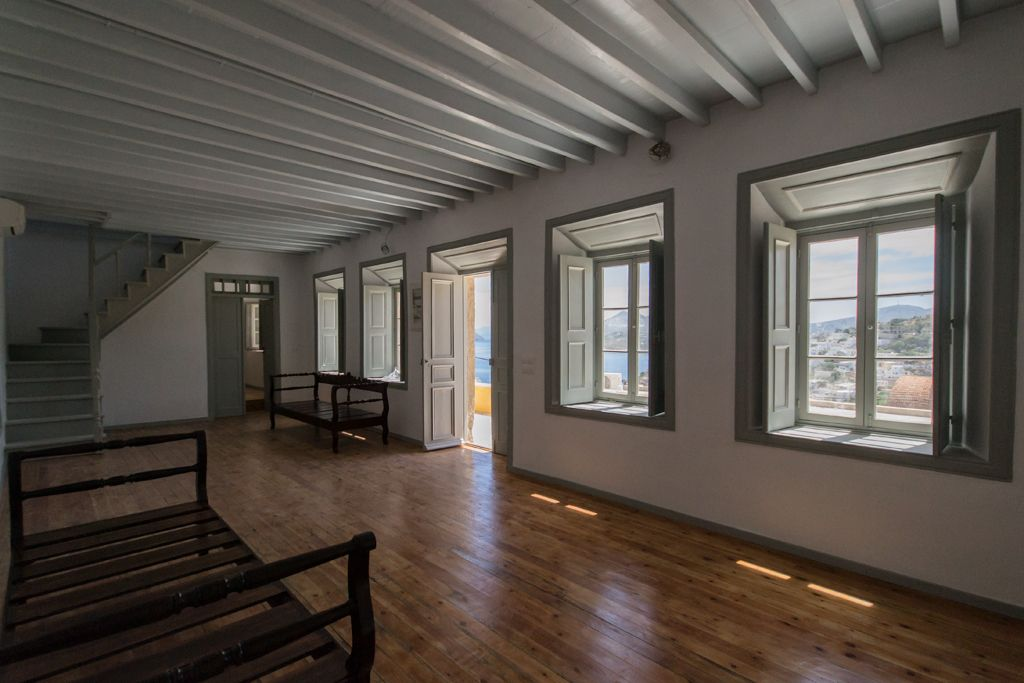 Restoration of neoclassical property in Leros island by Habit Real