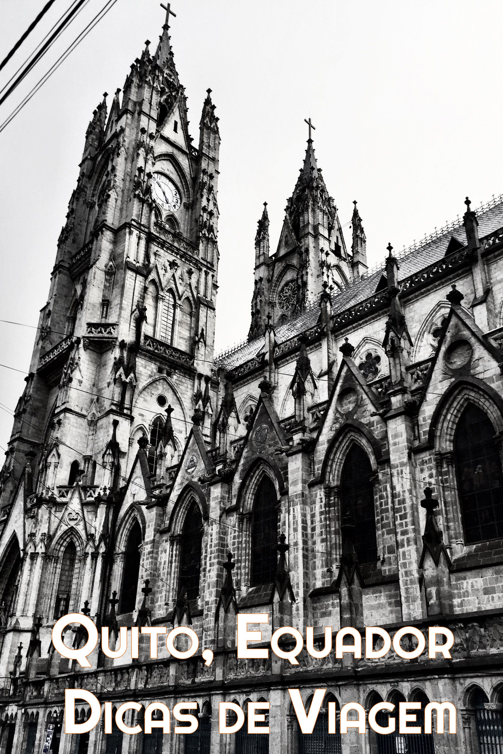 Conheça o Centro Histórico de Quito