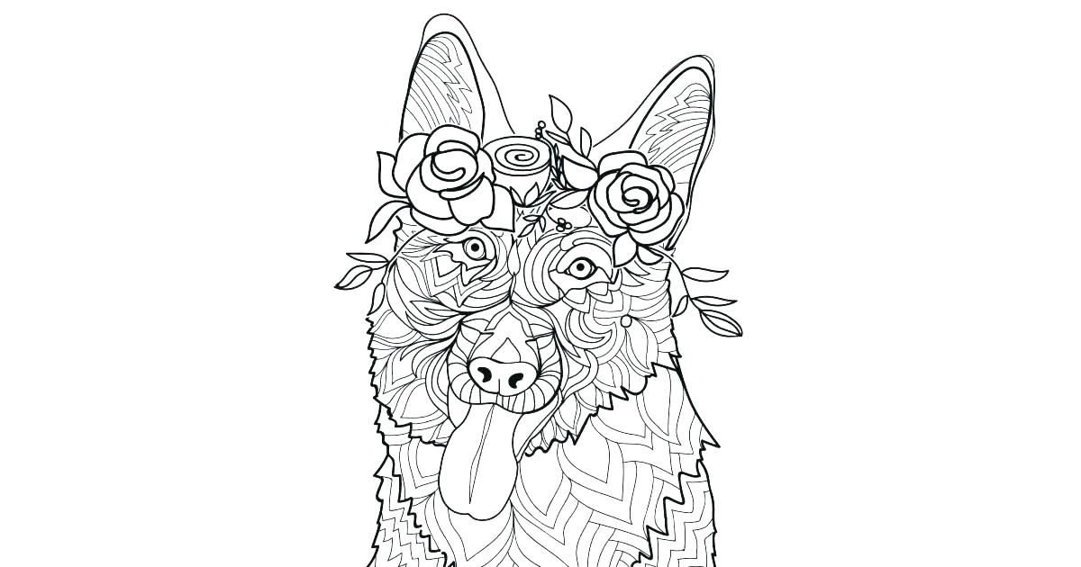 German Shepherd Coloring Pages Beautiful Shepherd Coloring Page Kids Pages Realistic German Shepherd Co German Shepherd Colors Dog Coloring Page Coloring Pages