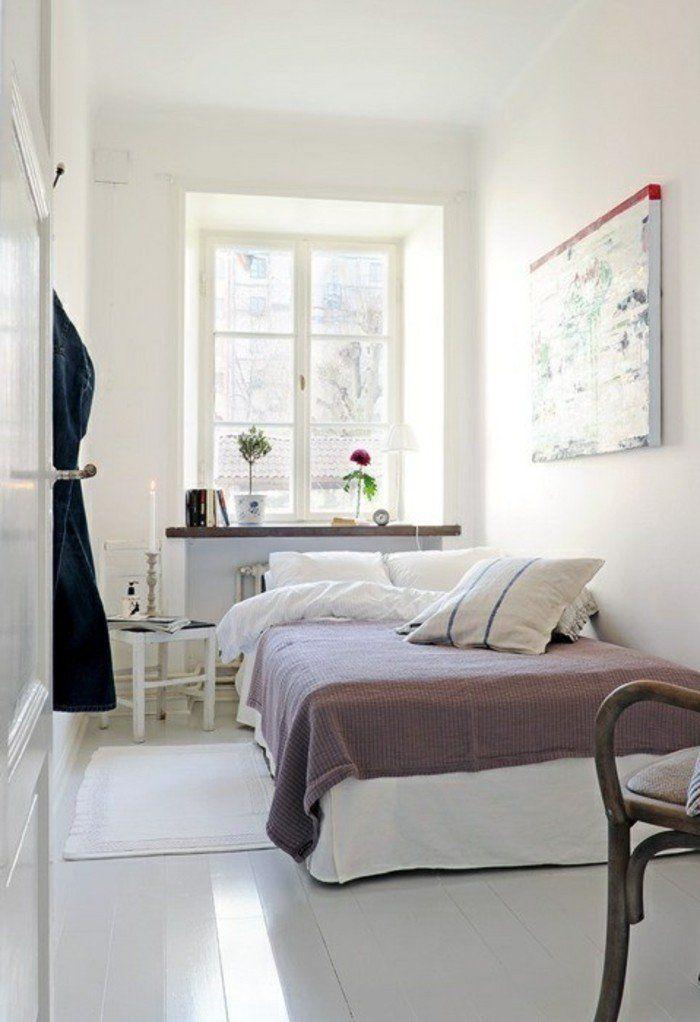 deko ideen schlafzimmer wanddeko pflanzen fensterbank deko Ma\u0027am