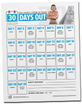 30 days diet and exercise plan
