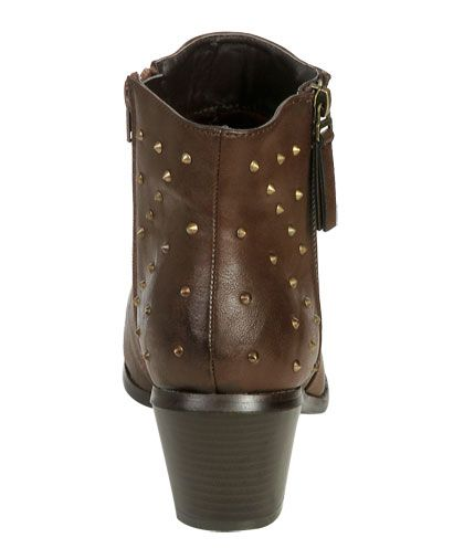 Jazlynn Studded Ankle Boot from WetSeal.com