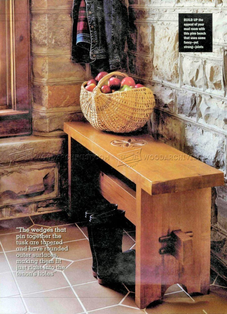 bench seat plans furniture plans bench diy projekte projekte rh pinterest at