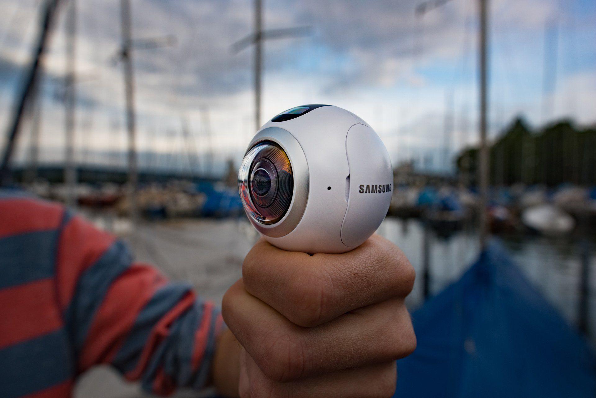 Samsung Gear 360 tested in Zurich, Switzerland