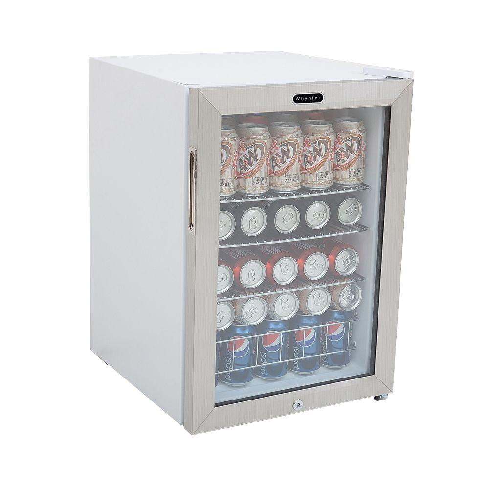 whynter 19 in 90 12 oz can cooler with lock white kitchen rh pinterest com