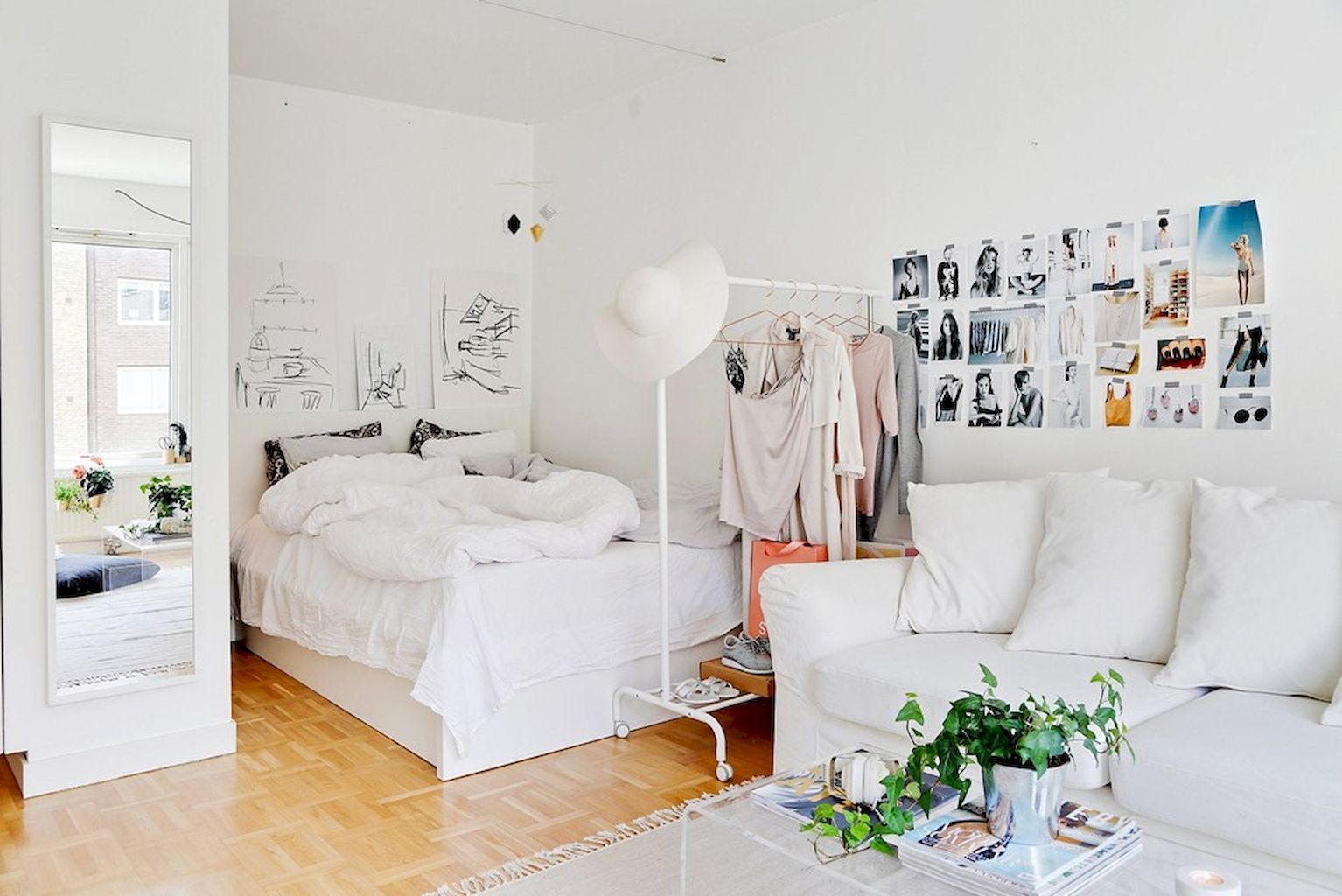 65 Smart and Creative Small Apartment Decorating