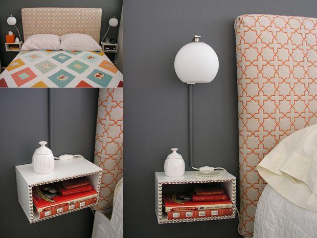 Comodini fai da te originali per la camera da letto for Camera letto fai da te