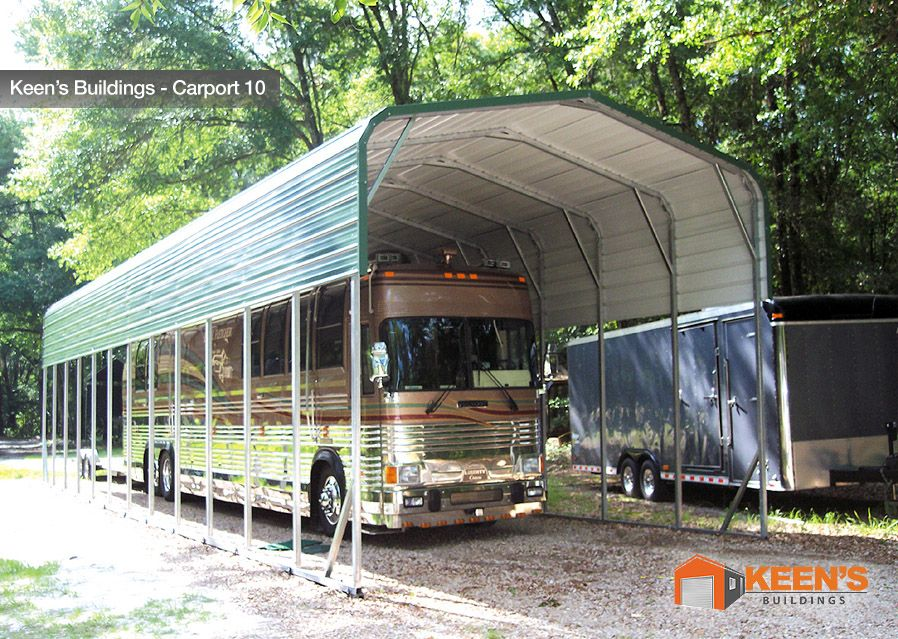 Protect your investment with this beautiful carport by
