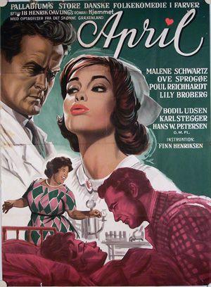 April (1963). Er historien om sygeplejersken April.