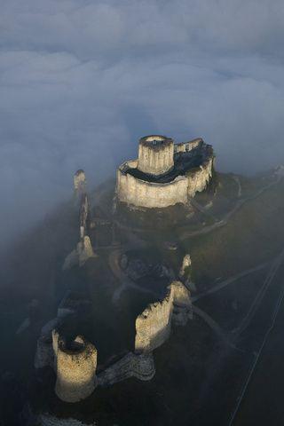 Castillo de Gaillard, Normandía, France