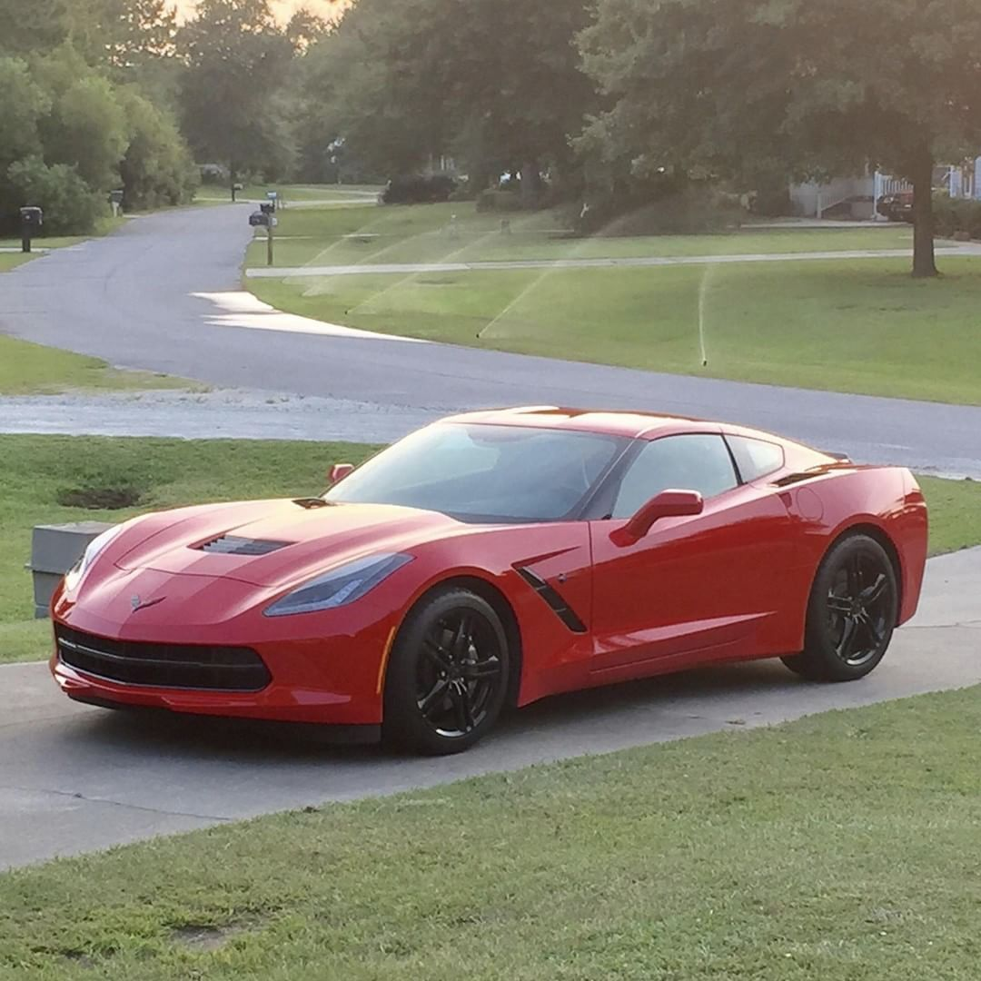 Corvette On Instagram Makes A Manicured Lawn Stand Out Thanks