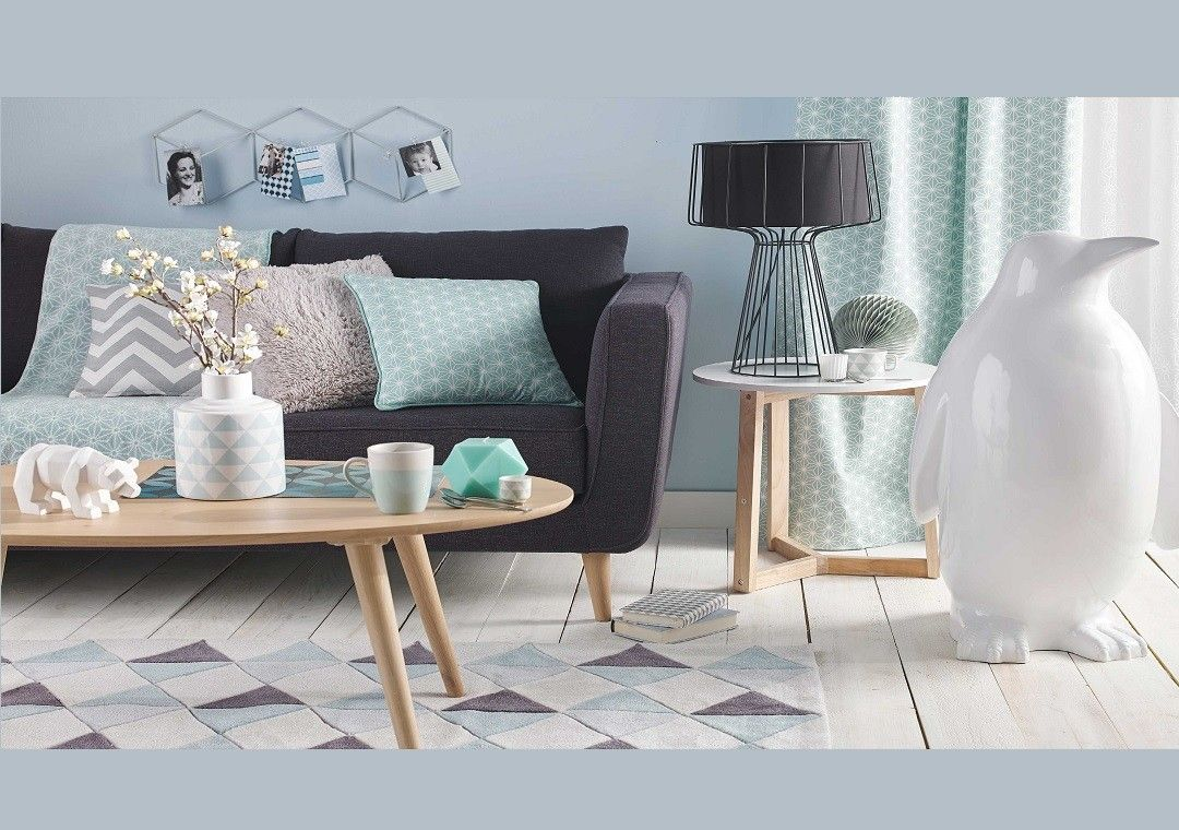 Inspirations maisons du monde salon scandinave home for Maison du monde facebook