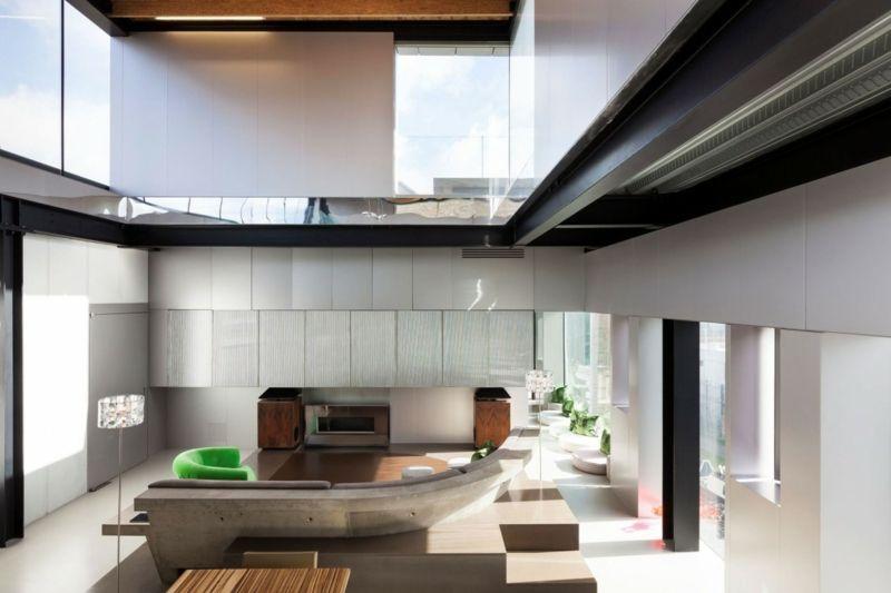 Beton In Interieur : Escalier beton design mediapoisk intérieur de la maison
