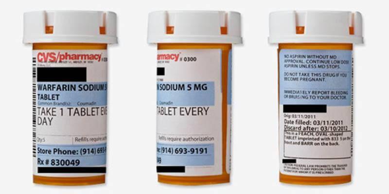 PSA Double Check The Description On Your Pill Bottle Label Pill - Pill bottle label template