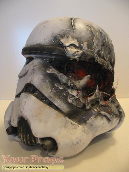 Star Wars: A New Hope custom stormtrooper helmet replica movie prop