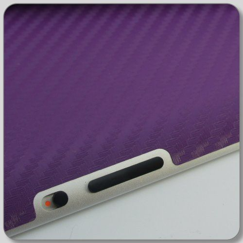 Textured Carbon Fiber Skin Kit Sticker For iPad 2nd gen 3rd gen & 4th Gen wifi and 3g 4g models (Purple, iPad 2 Wifi + 3G) Xtremeskins http://www.amazon.co.uk/dp/B009ZU8AU8/ref=cm_sw_r_pi_dp_7LIcub0ZHH1QK