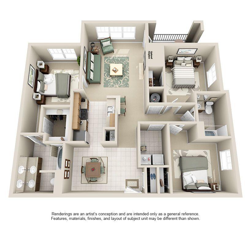 3754901684221jpg 820740 3d House PlansHouse Plans