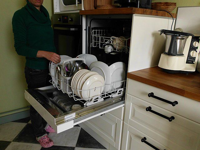 Cuisine ikea et lave vaisselle en hauteur maison for Vaisselle de cuisine